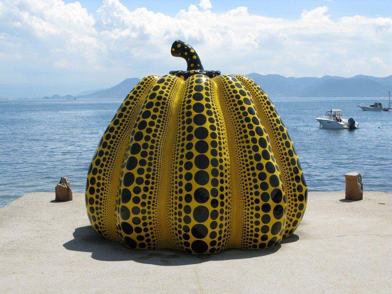Pumpkin (1994), Karya Yayoi Kusama