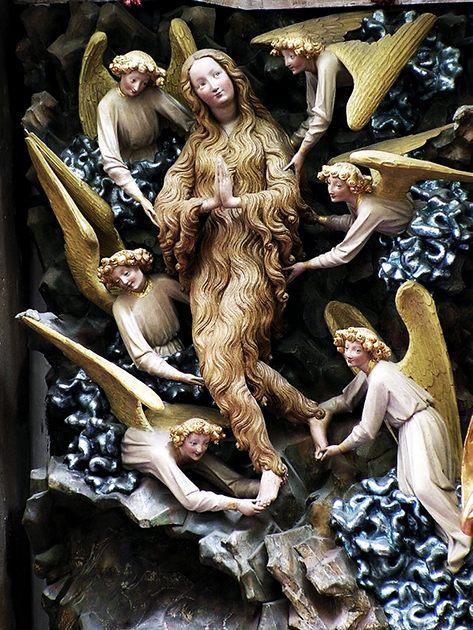 Contoh Gothic Art: Mary Magdalene, oleh Torun SS Johns. Foto: Pko, gambar asli diperoleh melalui: wikipedia.com.