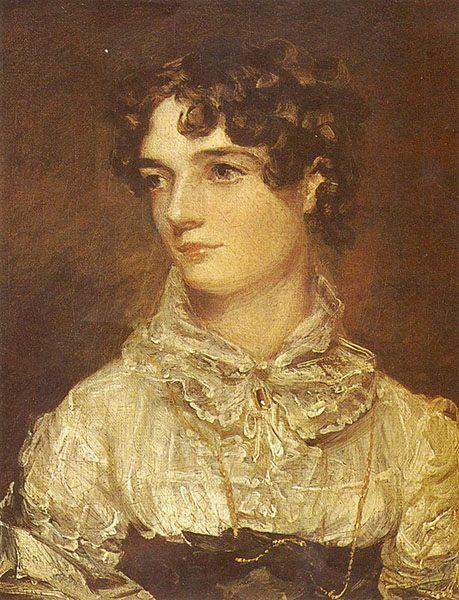 Potret Maria Bicknell oleh: John Constable