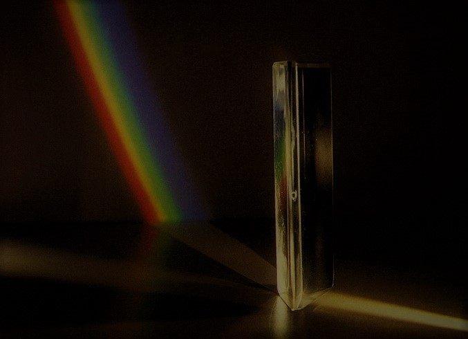 Spektrum warna pada prisma, Contoh eksperimen warna Newton