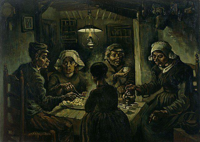 The Potato Eaters (Pemakan Kentang)