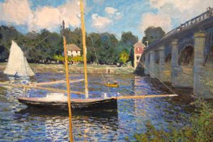 contoh aliran seni lukis impresionisme