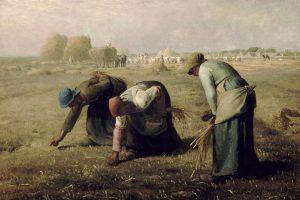 44 Lukisan Pemandangan Sawah Dan Petani Yang Sedang Memanen Padi Termasuk Pada Aliran HD