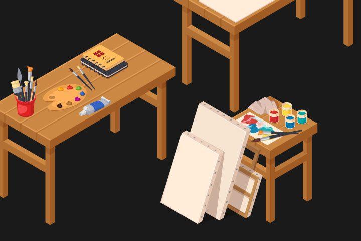 Seni Lukis – Pengertian, Aliran, Tema, Alat, Teknik & Contoh