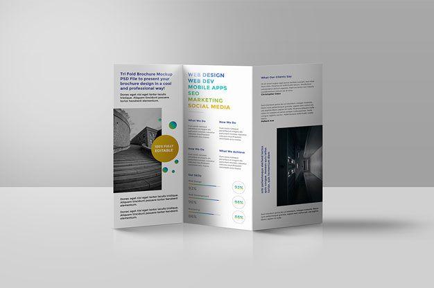 contoh brosur yang keren