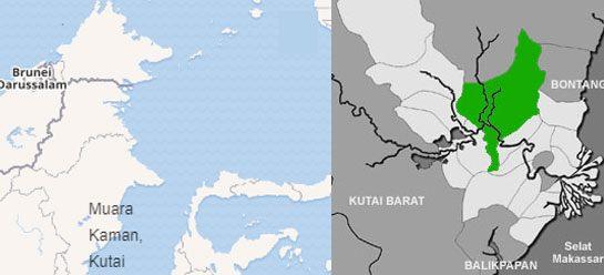 peta-lokasi-letak-kerajaan-kutai