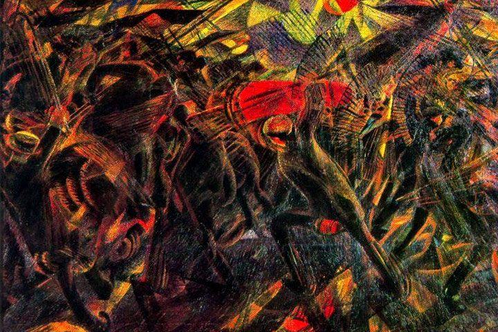 futurisme-pengertian-contoh-lukisan-tokoh-carlo-carra-funerali-dell-anarchico