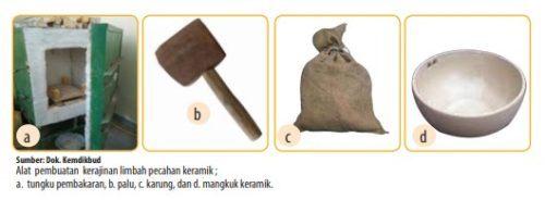 Alat Pembuatan Kerajinan dari Limbah Pecahan Kaca