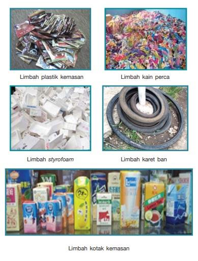 Contoh Limbah Lunak Anorganik