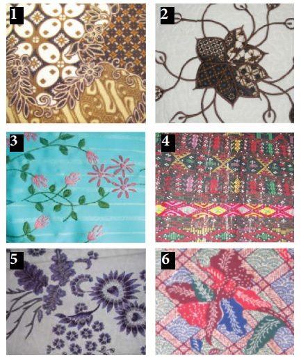 contoh penerapan ragam hias pada tekstil baju adat indonesia