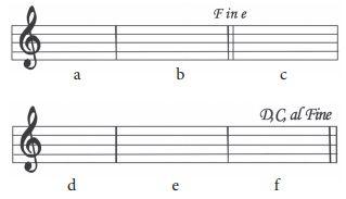 contoh tanda ulang fine al fine contoh