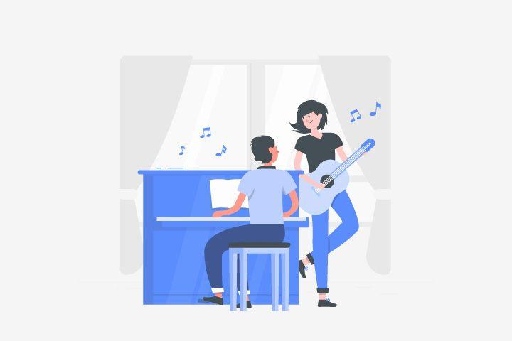 memainkan-alat-musik-sederhana